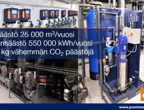 """""""Moneymaker"""" – käänteisosmoositekniikalla merkittävät säästöt energian- ja vedenkulutuksessa Espoon Leppävaaran uimahallissa"""